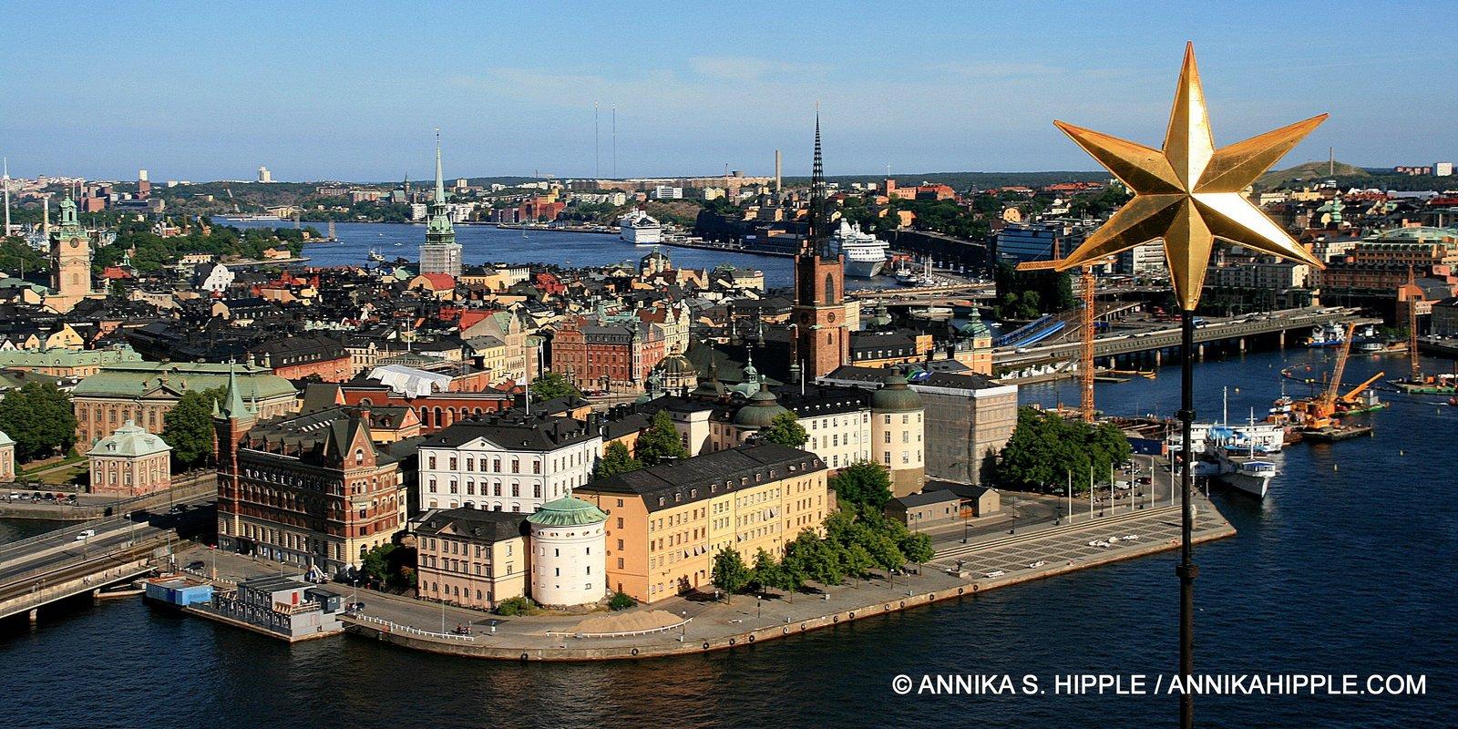 Stockholm from Stadshuset